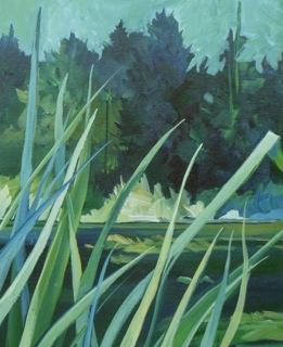 Grasses at the Beaver Ponds