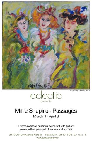 """Millie Shapiro """"Passages"""" March 1 - April 3, 2010"""