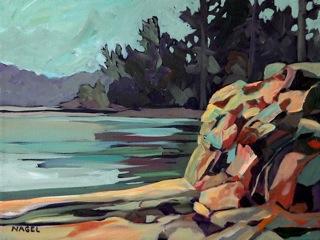 Rock Wall at Cordova Bay